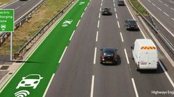 This Road Recharges Electric Cars While You
