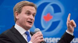 Tory Leadership Hopeful Says He's Running For The 'Canadian