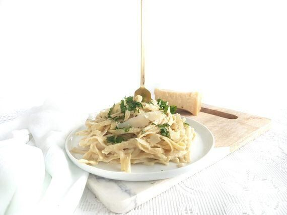 Best Ever Cauliflower Fettuccine
