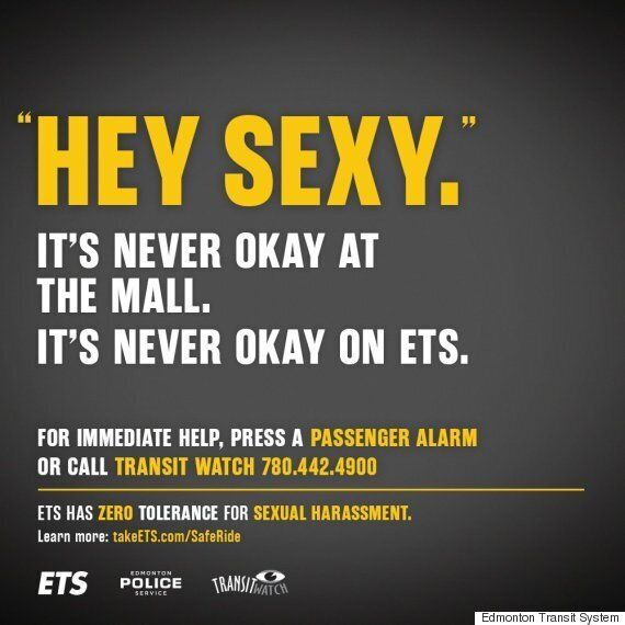 Edmonton Transit Campaign Uses Blunt Posters To Fight