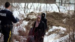 Refugees Crossing Over From The U.S. Are Breaking The