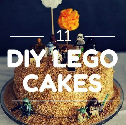 Enjoyable Lego Cake Ideas So Easy Even We Can Make Them Huffpost Canada Funny Birthday Cards Online Kookostrdamsfinfo