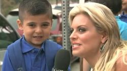 Reporter Makes Kid Cry On His Very First Day Of
