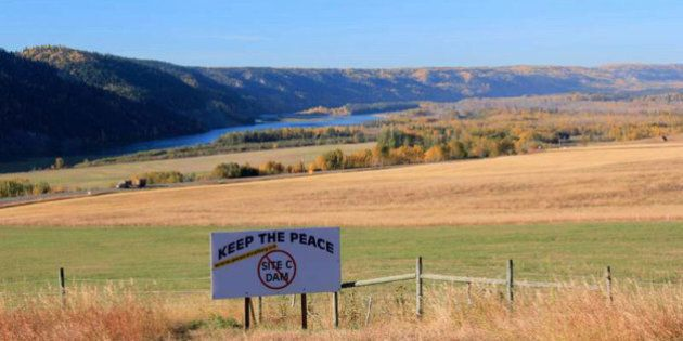 Site C Dam: First Nations Go To Court To Halt