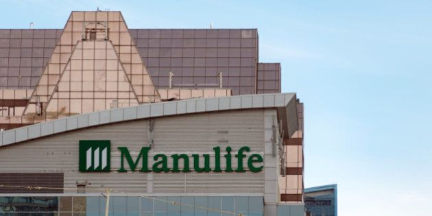 TORONTO, ONTARIO, CANADA - 2016/03/12: Manulife: Manulife Financial is a Canadian insurance company and...