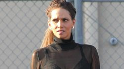 Halle Berry Demonstrates How To Do Sheer Dressing