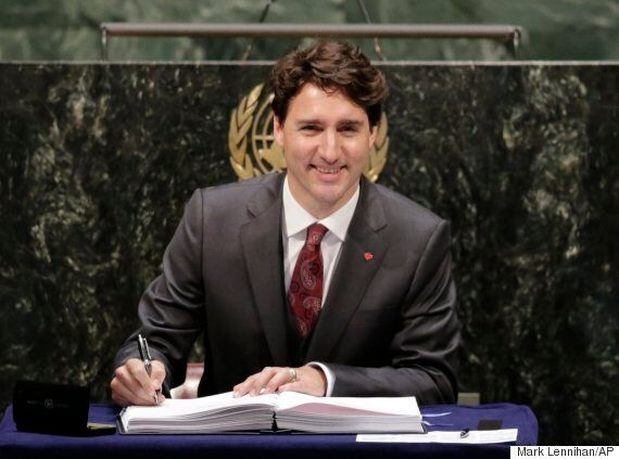 Trudeau Signs UN Climate Treaty, But The Hard Part Will Be Respecting
