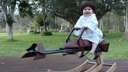 Dad Creates Incredible 'Star Wars' Rocker For