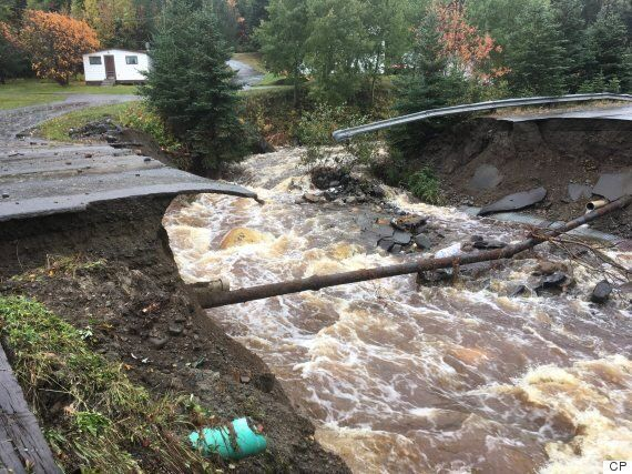 Atlantic Canada Wracked By Heavy Rains, Strong