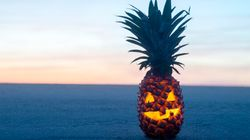 Carved Pineapples Make The Coolest Halloween Jack O'
