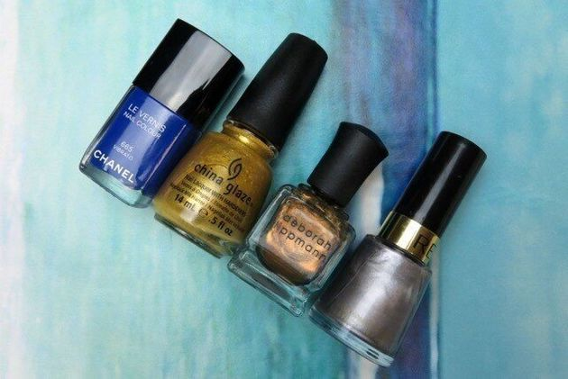 #ManiMonday: Quick And Easy Dry Brush Nail