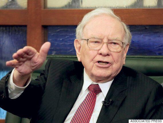 Warren Buffett Sets The Record Straight On Trump's Tax