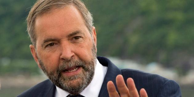 Thomas Mulcair Is A Ruthless Dictator Like Harper, Says Green MP Who Left The