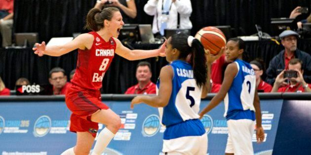 FIBA Americas Gold Goes To Canada Which Clinches Olympic Women's Basketball