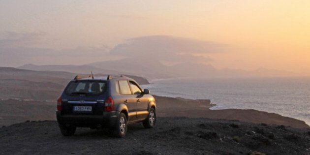 Fuerteventura has many off road tracks to explore and this Tucson turned out to be a surprisingly good...