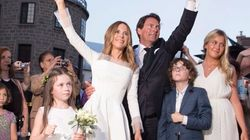 PQ Leader Weds TV Personality In Royal Quebec