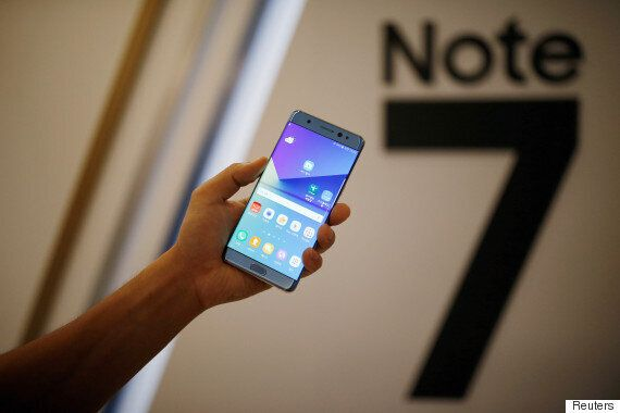 Samsung Galaxy Note 7 Sales Halted Due To Fire: