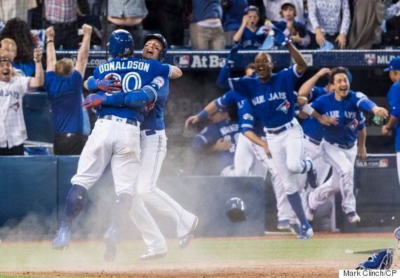 Toronto Blue Jays Win 7-6, Sweep Texas Rangers In ALDS After Josh Donaldson Slides