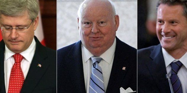 Federal Election 2015: Circle Around Harper Lands In Duffy Trial's