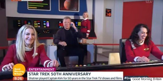 William Shatner Leaves TV Hosts On Another Planet After Trainwreck