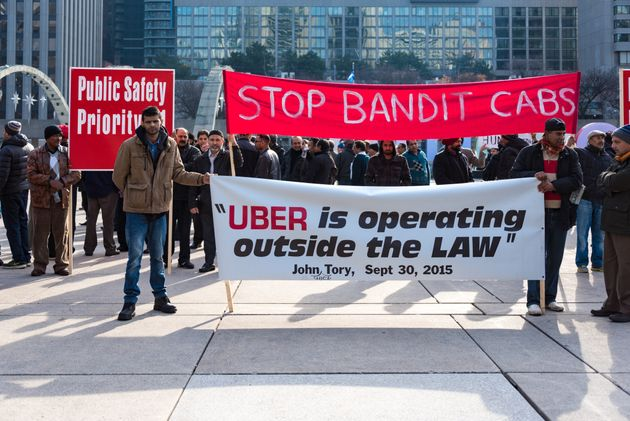 Uber May Leave Toronto If New Rules Passed, Jeopardizing 15,000