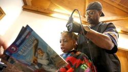 This Barber Gives Kids Free Haircuts If They Read Him A