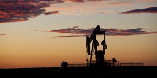 A pumpjack on the