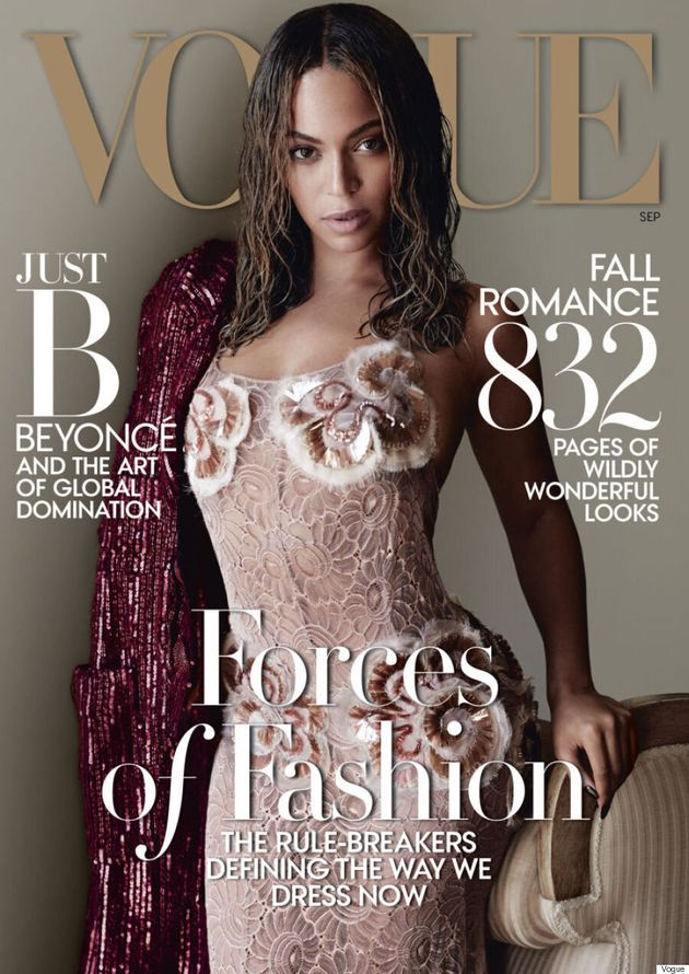 Beyonce Covers The September Issue Of