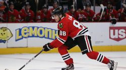 Blackhawks Star Dropped From NHL Game Cover Over Police