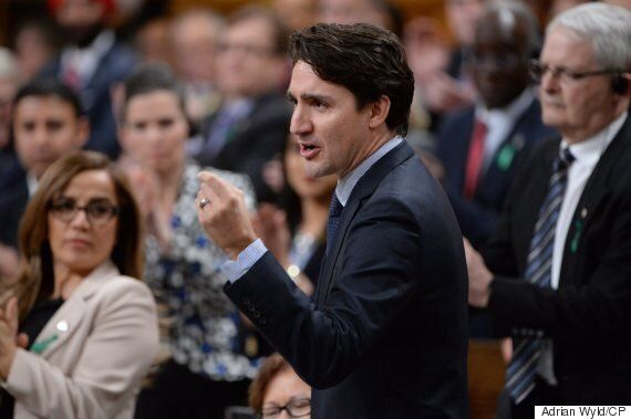 Trudeau Rules Out Decriminalizing Pot Before Making It