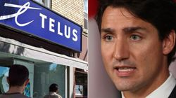 Telus Is Sorry For That Supportive Tweet About Trudeau's Carbon