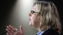 May Says Mulcair Is Allowing Harper To Avoid Broadcasters'