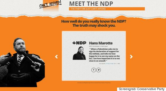 Hans Marotte, NDP Candidate, Calls Tory Attack Over Palestine Comments 'Rather