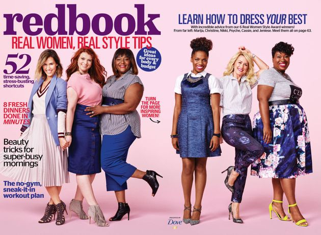Redbook Features 'Real Women' On Their September 2015