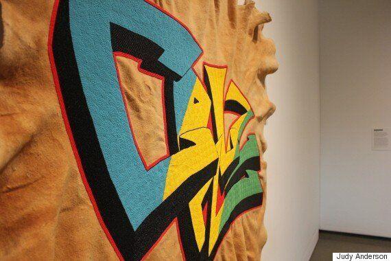Judy And Cruz Anderson Transform Graffiti Into Traditional Cree