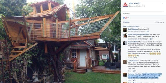 Boat Treehouse: Toronto Dad Might Not Have To Tear Down $30,000