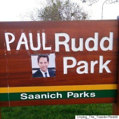 Paul Rudd Park Is Just One Example Of Gloriously Polite Canadian