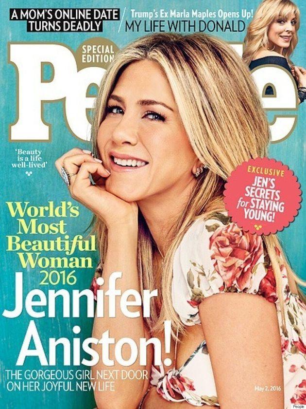 Jennifer Aniston Named People Magazine's 'World's Most Beautiful Woman