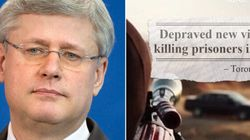 Harper Blasts ISIS Propaganda Videos, As Tory Ad Shows Their