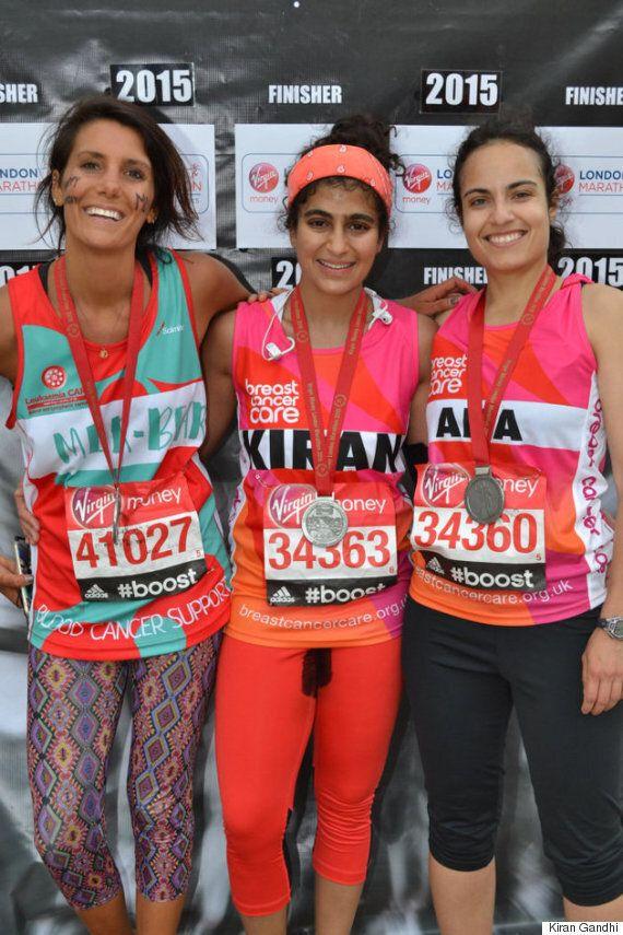 Kiran Gandhi Runs Marathon Without A Tampon To Fight Period