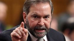 Mulcair Calms Political Storm After Oilsands