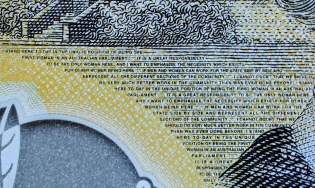 """オーストラリアの新札、""""責任の欠けた""""スペルミス 1770億円相当がすでに流通"""