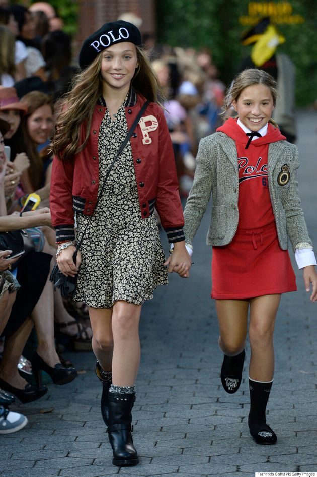 Dance Moms' Star Maddie Ziegler Makes Her Runway Debut At