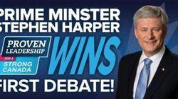 Harper's Team Declares Harper Debate Winner With Brutal