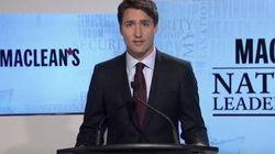 Justin Trudeau Gets Scrappy In First