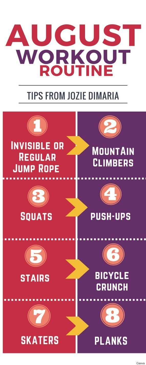 Workout Routine For