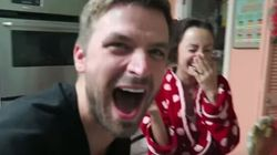 Husband Surprises Wife With Pregnancy