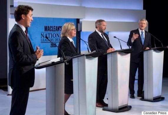 Federal Election 2015 Debate: Harper On Defensive As Leaders Face