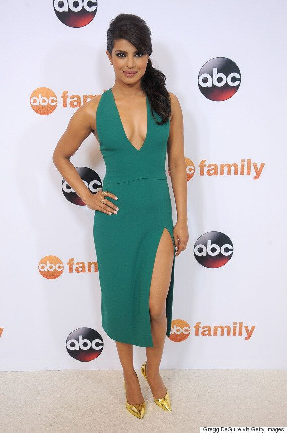 Priyanka Chopra's Green Dress Is The Perfect Amount Of