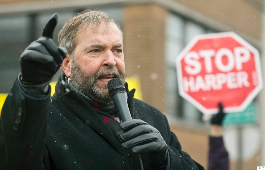 How Thomas Mulcair's NDP Went From Frustration To